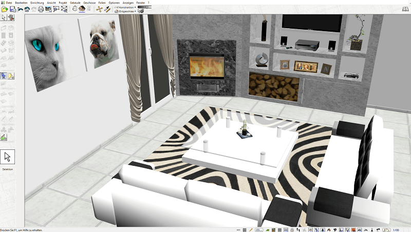 galerie unserer 3d hausplaner software sehen sie selbst. Black Bedroom Furniture Sets. Home Design Ideas