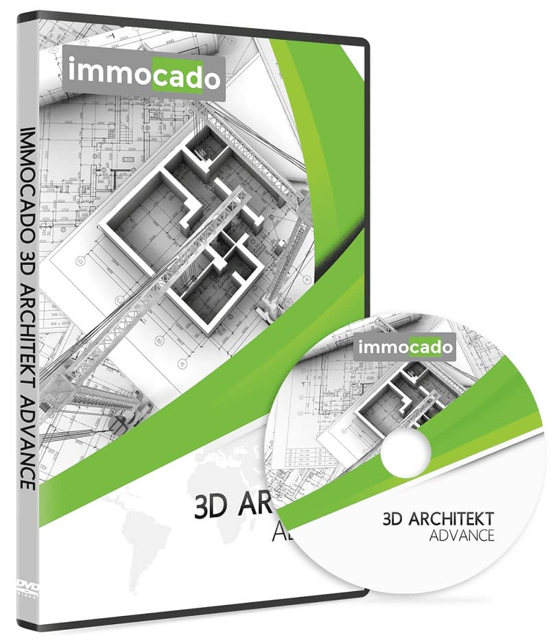 Immocado 3D Architekt Advance DVD Hülle