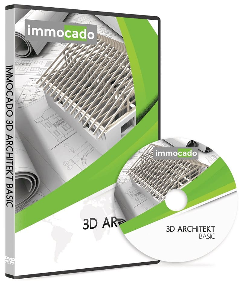 Immocado 3D Architekt Basic DVD