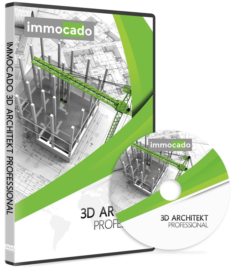 Immocado 3D Architekt Professional DVD